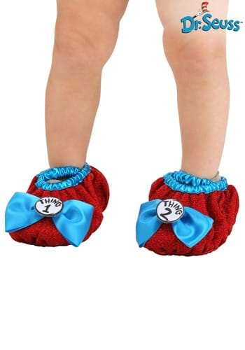 Thing 1&2 Costume Shoe Covers Kids Update