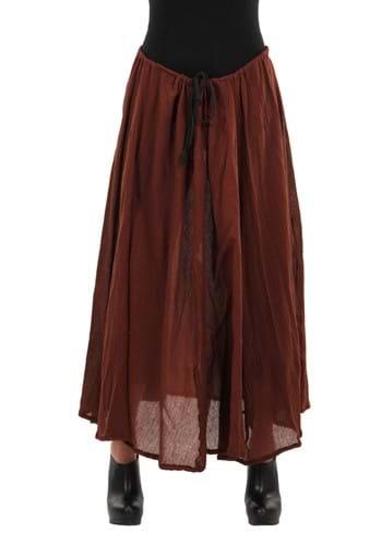 Pirate Parachute Brown Skirt