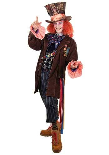 Mad Hatter Tea Party Replica Jacket Mens S/M