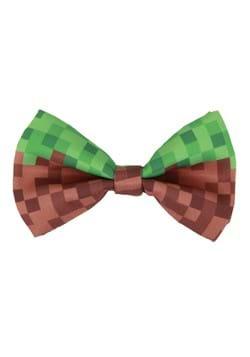 Pixel Brick Bow Tie Green/Brown