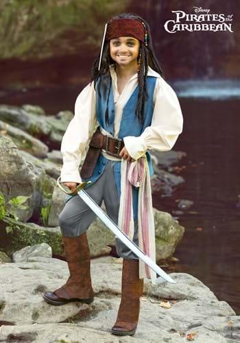 Captain Jack Sparrow Costume for Kids-2