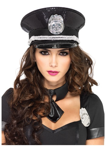 Sequin Cop Hat By: Leg Avenue for the 2015 Costume season.