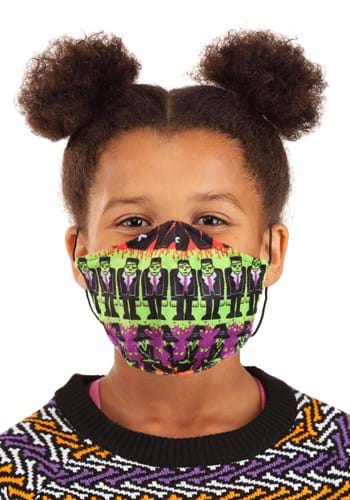 Child Monsters Sublimated Face Mask Main UPD