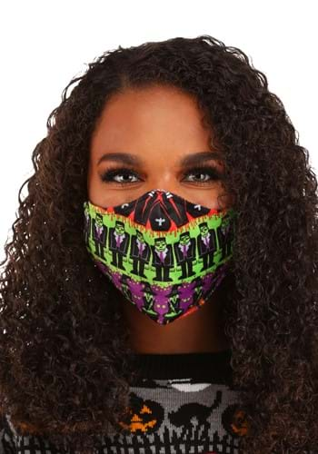 Adult Monsters Sublimated Face Mask