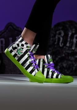 Beetlejuice Striped Unisex Sneakers Main