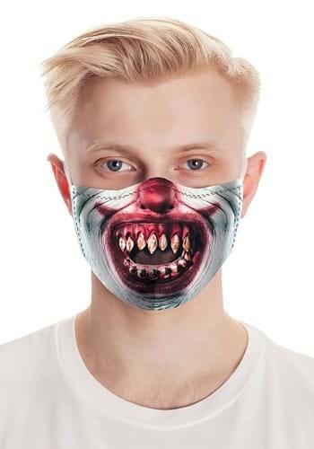 Razor Teeth Clown Face Mask