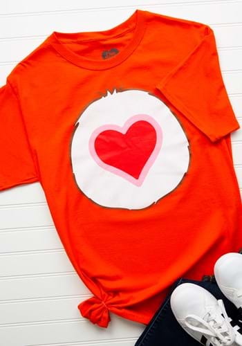Tenderheart Bear Adult Unisex Costume T-Shirt Upd1