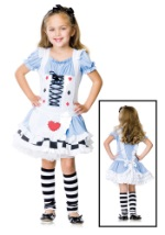 Girls Alice in Wonderland Halloween Costumes