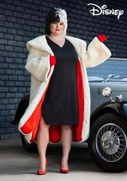 Plus Size Women's Deluxe Cruella De Vil Costume-2-1
