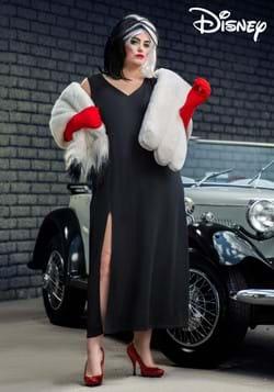 Plus Size Prestige Cruella De Vil Stole Costume