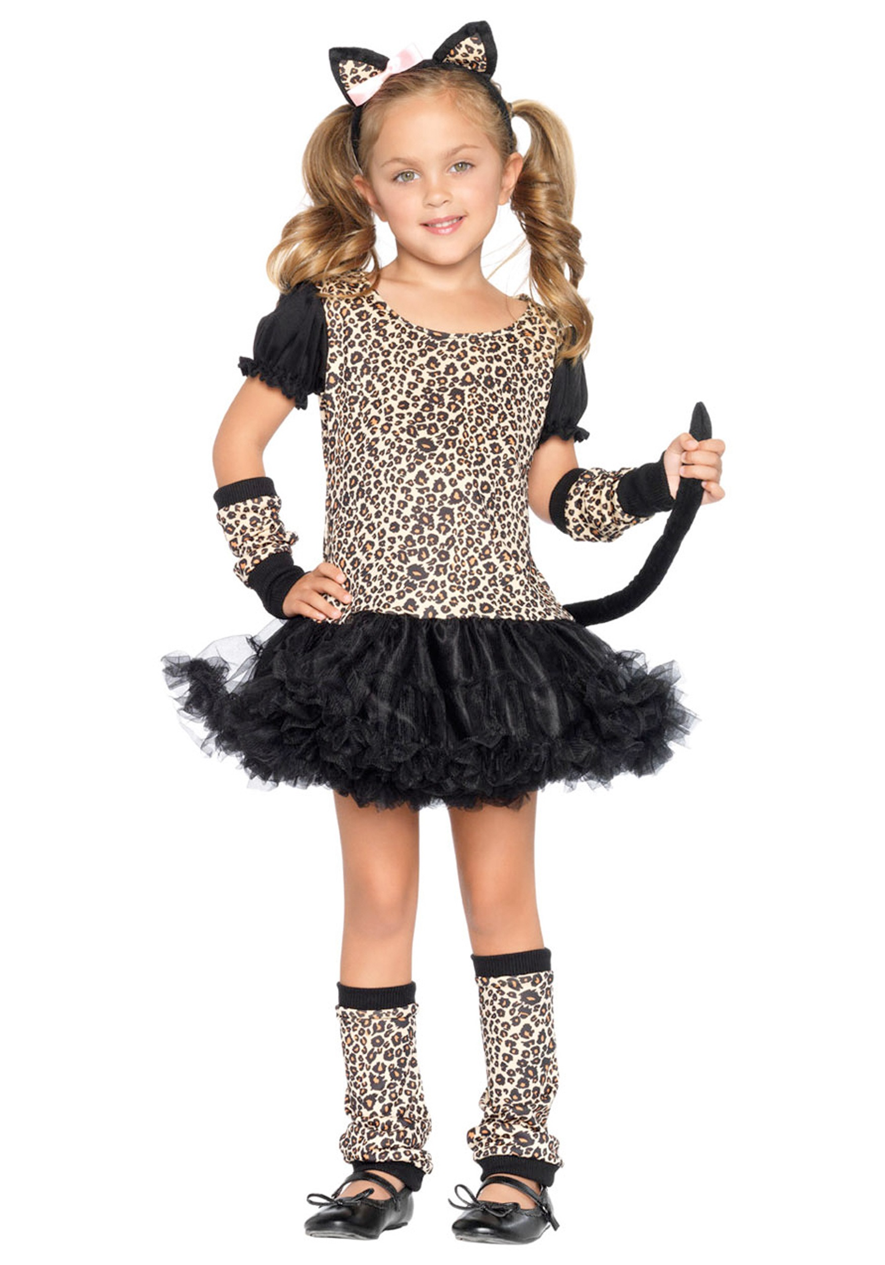 Child Tutu Leopard Costume - Costume
