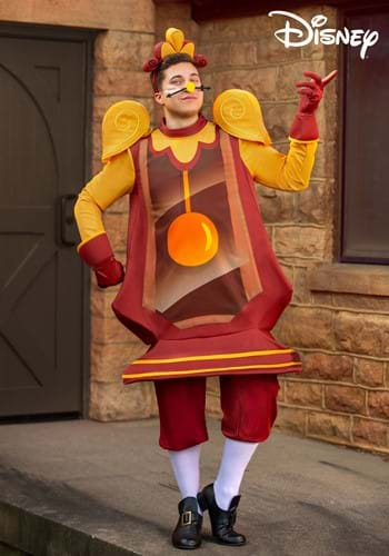Beauty and the Beast Cogsworth Costume for Adults-2
