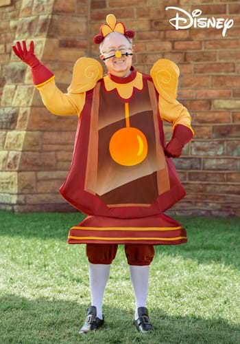 Beauty and the Beast Cogsworth Plus Size Costume-2