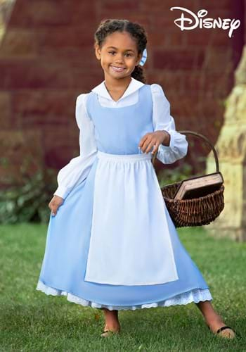 Beauty and the Beast Belle Blue Costume Dress for Kids