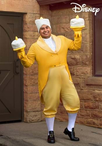 Plus Size Beauty and the Beast Lumiere Costume-2