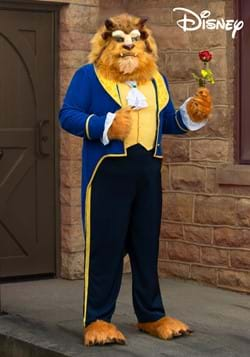 Beauty and the Beast Authentic Beast Plus Size Mens Costume-