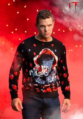 IT (2019) Pennywise Halloween Sweater for Adults