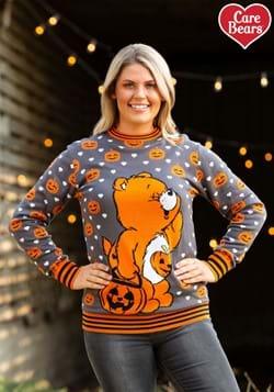 Adult Care Bears Trick-or-Sweet Bear Halloween Sweater