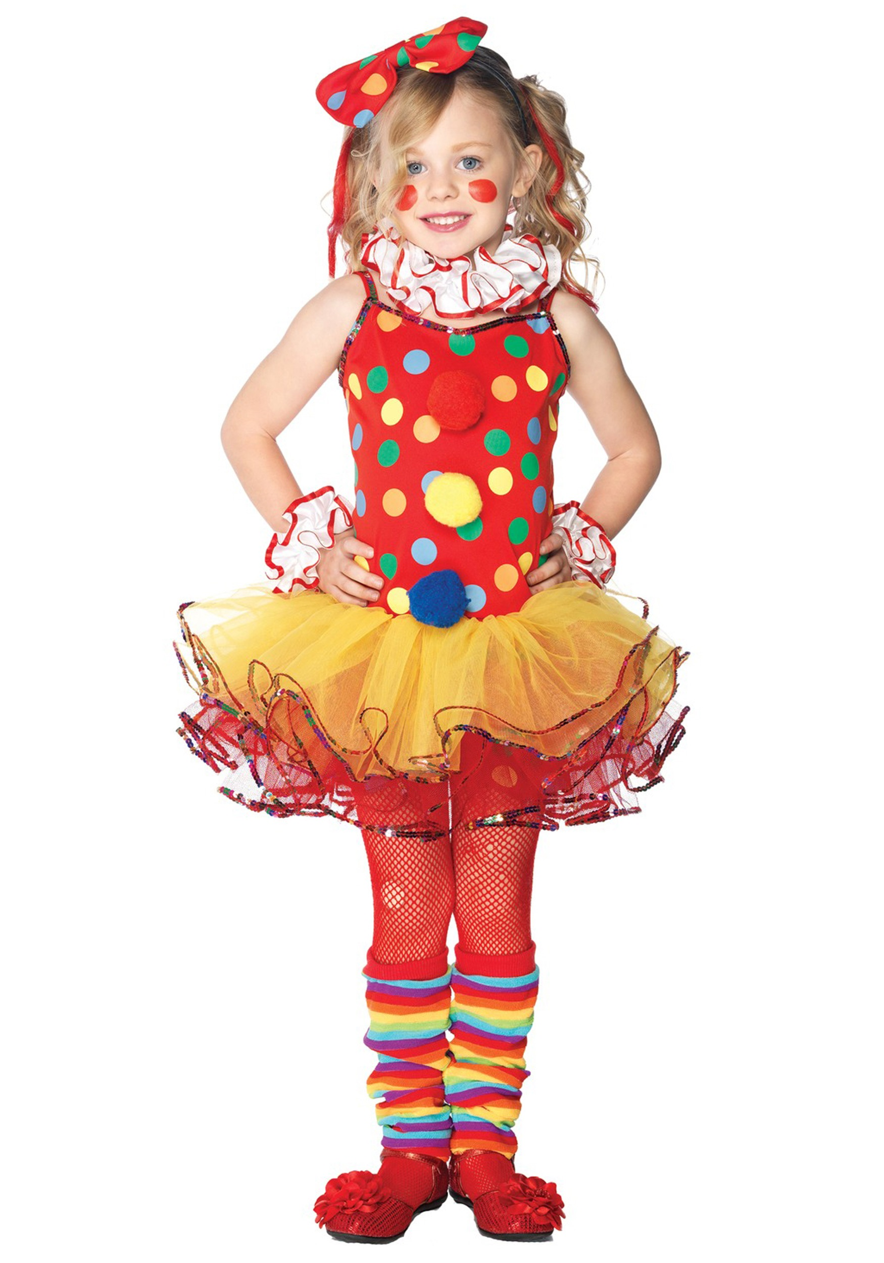 sc 1 st  Halloween Costumes & Child Circus Clown Cutie Costume