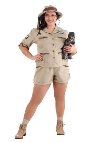 Women's Plus Size Paleontologist Costume