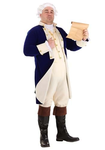 Plus Size Alexander Hamilton Costume