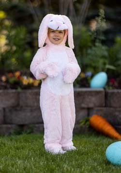 Toddler Fluffy Pink Bunny Costume