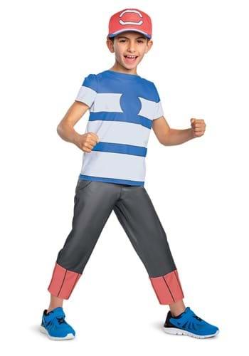 Pokemon Ash Ketchum Classic Costume for Boys