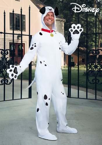 Adult 101 Dalmatians Pongo Costume Onesie