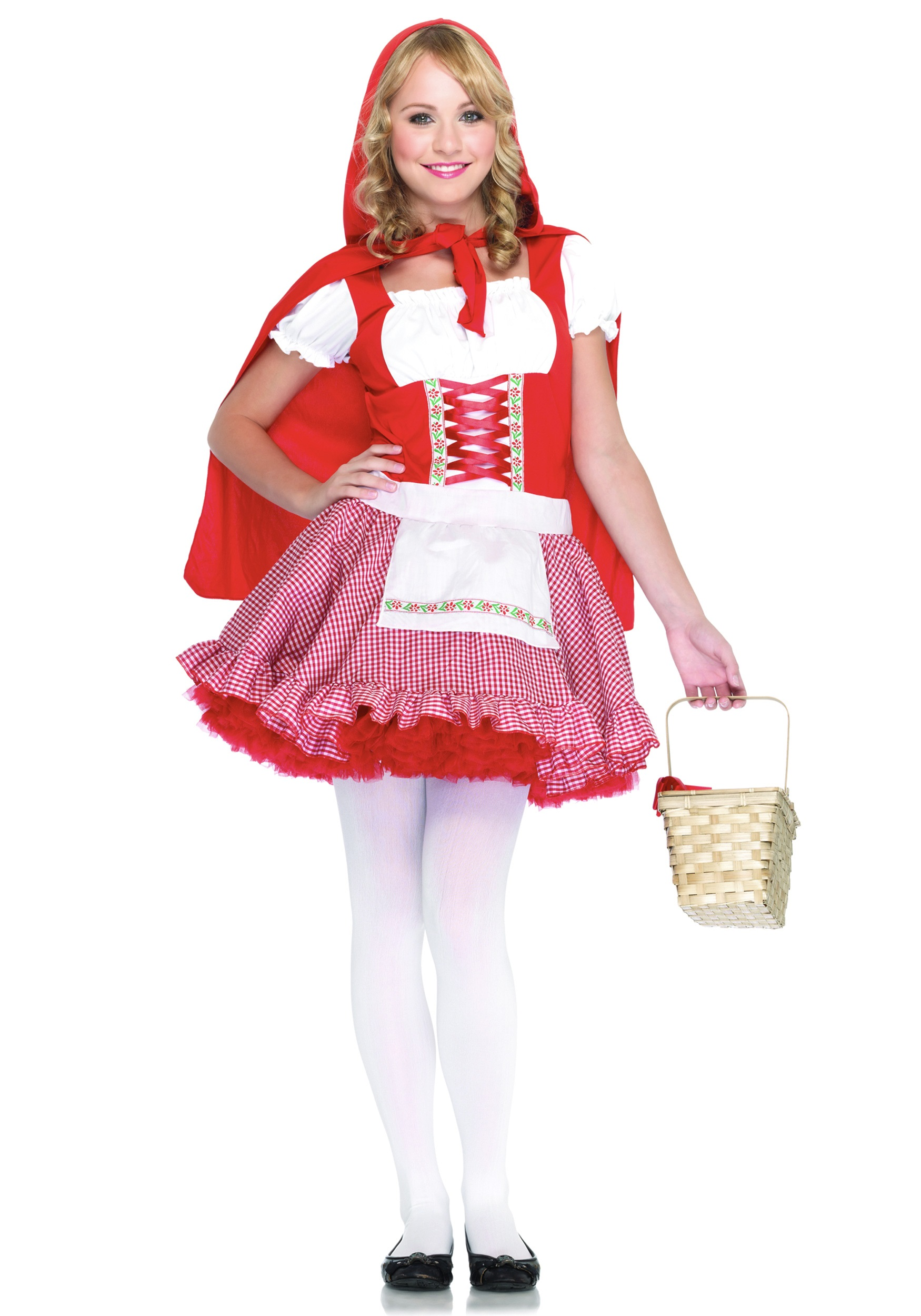 teen red riding hood costume - Girls Teen Halloween Costumes