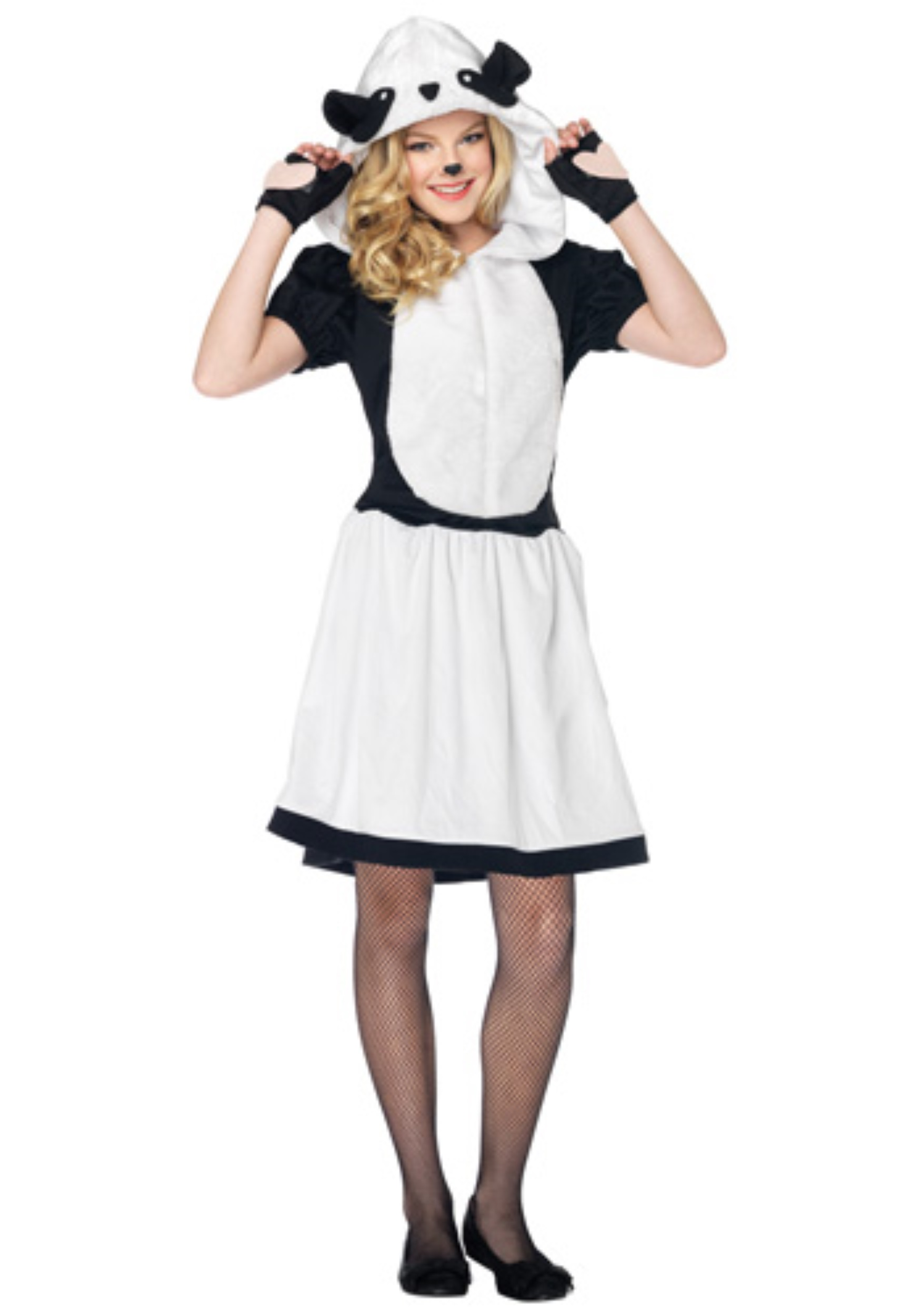 Teen pretty panda costume for Cute homemade halloween costumes for girls