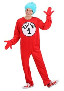 Thing 1&2 Adult Costume Alt 1