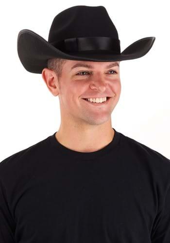 Western Cowboy Hat - Black