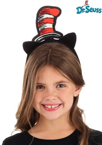 Glitter Headband Dr Seuss Cat in the Hat
