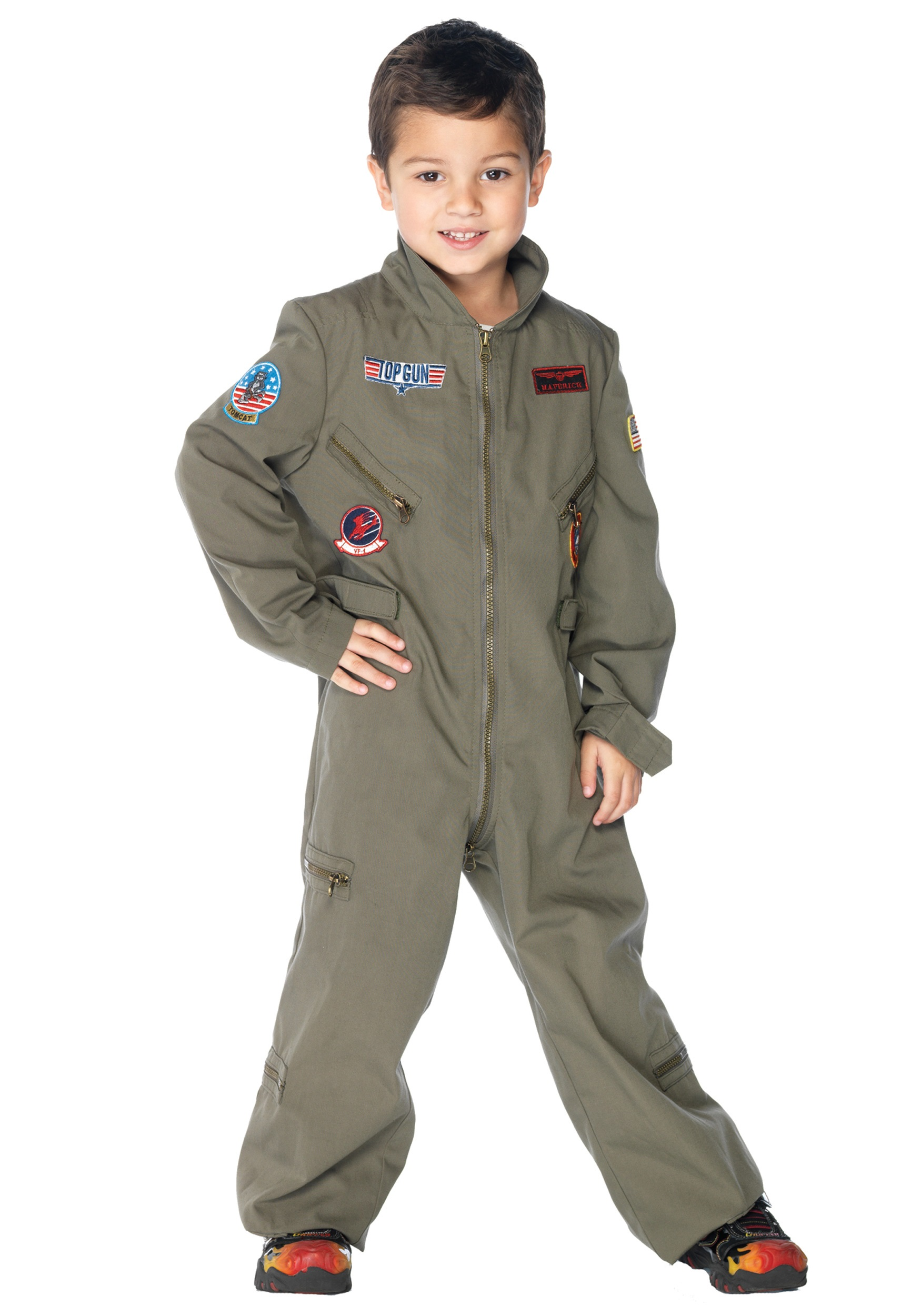Boys Top Gun Costume  sc 1 st  Halloween Costumes & Military Costumes - Adult Kids Army and Navy Halloween Costume