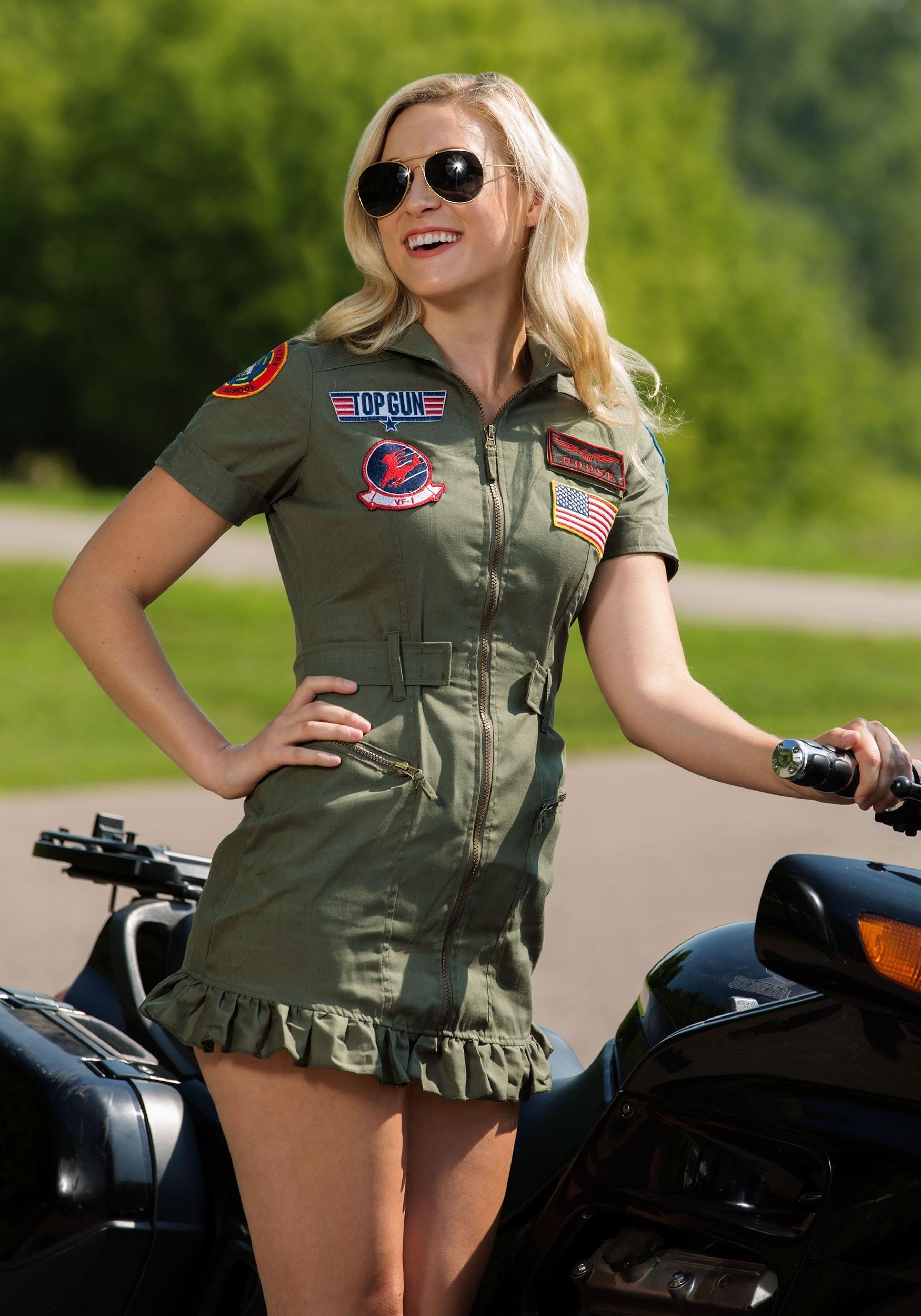 Top Gun Flight Dress Costume
