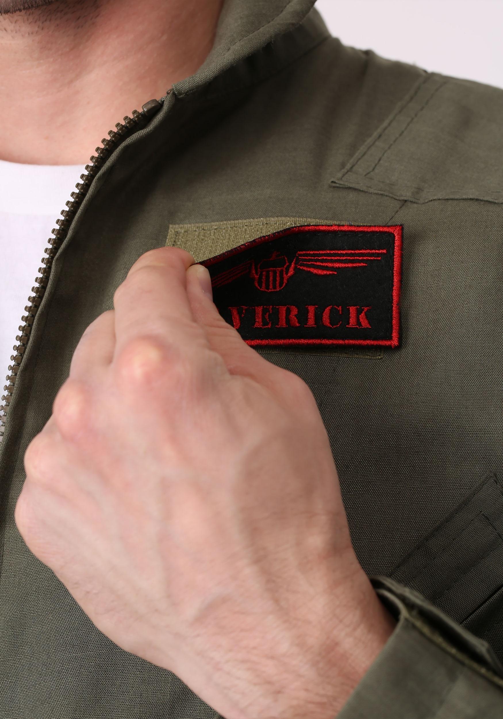 Men S Top Gun Flight Suit Costume
