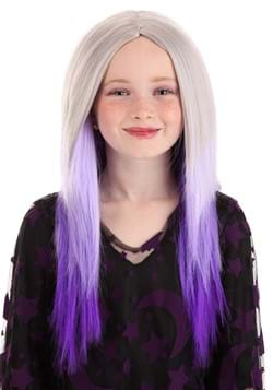 Kids Purple and Grey Ombre Wig