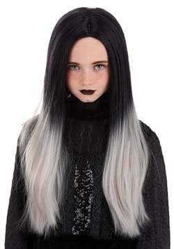 Kids Black and Grey Ombre Wig