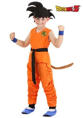 Child Dragon Ball Z Kid Goku Costume