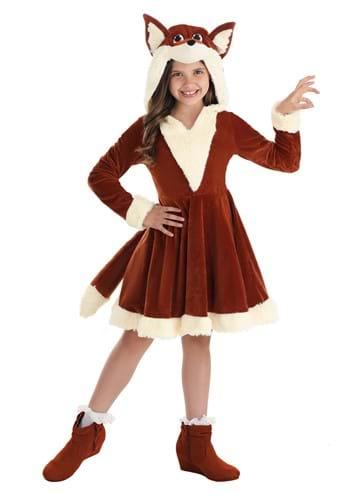 Girl's Fox Dress Costume