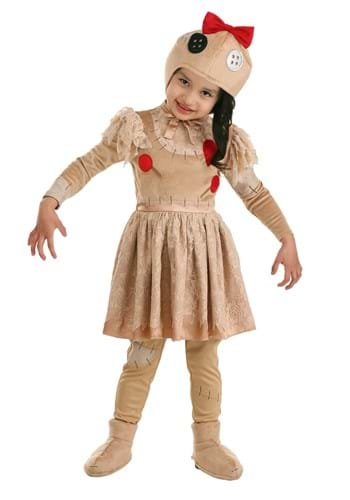 Voodoo Doll Dress Costume for Toddlers