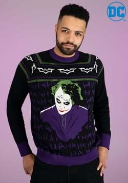 The Joker Dark Knight Ugly Christmas Sweater-2