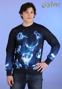 Adult Harry Potter Patronus Ugly Sweatshirt-2