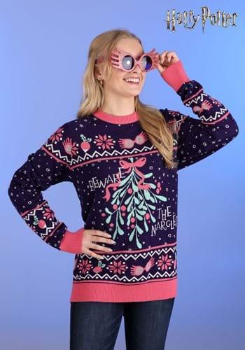 Adult Harry Potter Luna Lovegood Ugly Sweater main