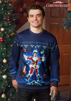 Movie Poster Christmas Vacation Adult Ugly Sweatshirt-2
