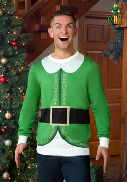 Adult Buddy the Elf Ugly Christmas Sweater-2