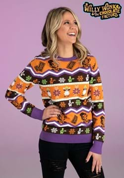 Willy Wonka Adult Ugly Sweater-2
