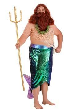 Plus Size Salty Merman Costume