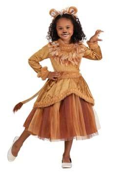 Girl's Lovely Lion Dress Costume