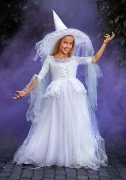 Kid's White Witch Costume-1